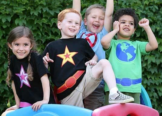 superheroes kids